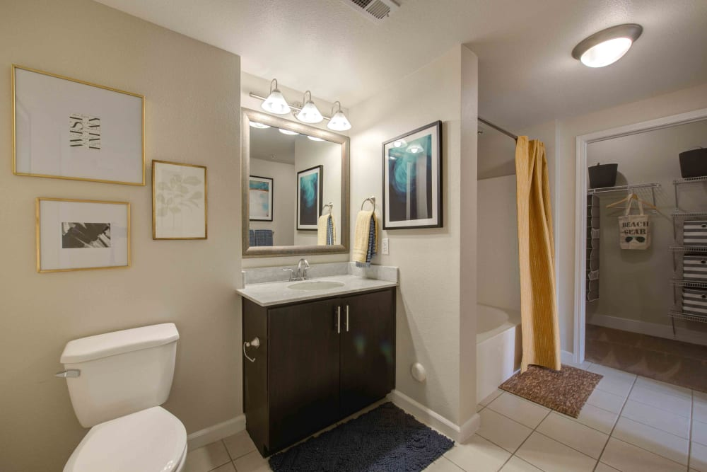 Our Apartments in Woodland Hills, California offer a Bathroom