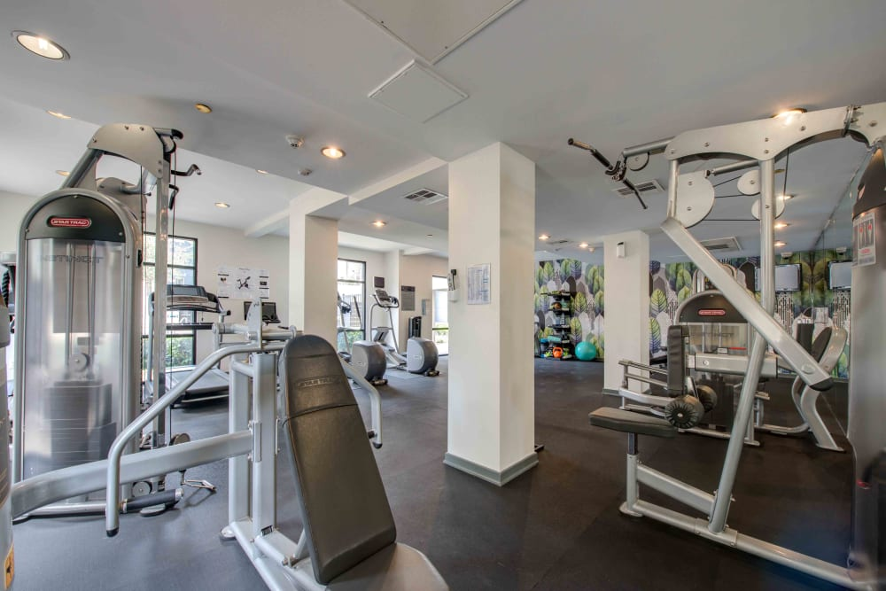 Enjoy Apartments with a Fitness Center at Sofi Warner Center