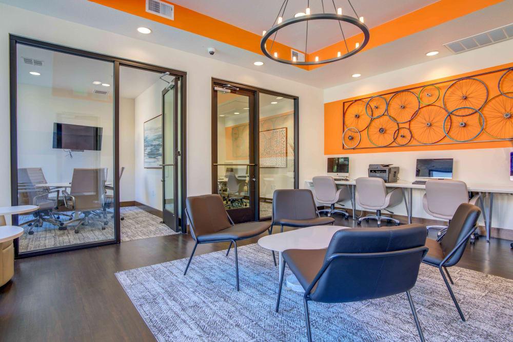 Business Center at Sofi Riverview Park in San Jose, California