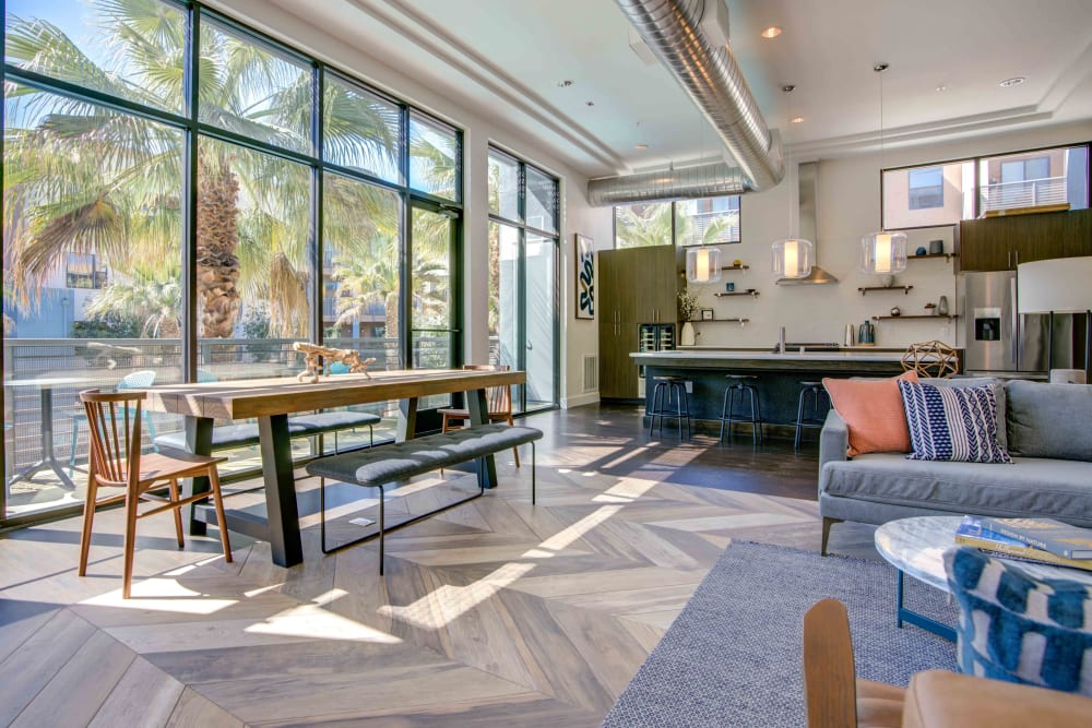 Clubhouse at Sofi Riverview Park in San Jose, California