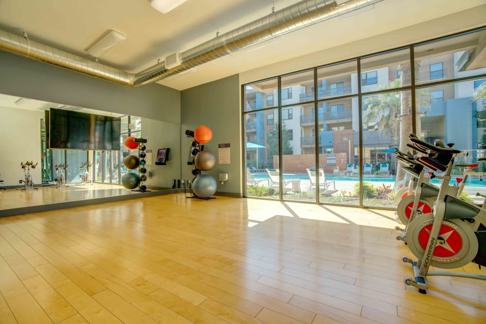 Sofi Riverview Park offers a Fitness Center in San Jose, California
