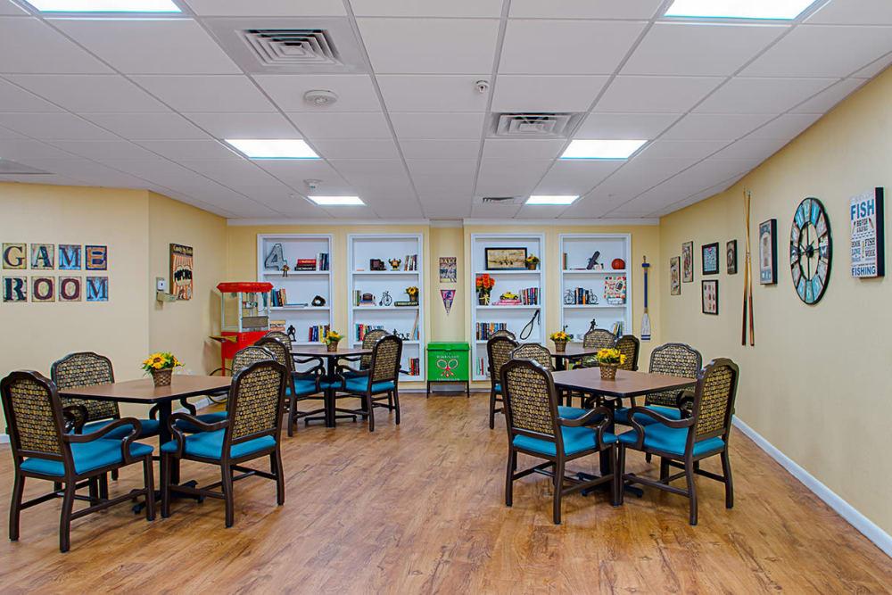 Dining room at Grand Villa of Lakeland in Florida