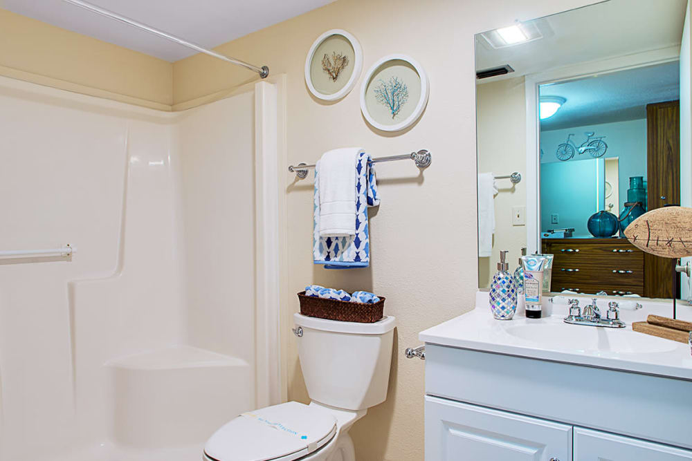 Bathroom at Grand Villa of Lakeland in Florida