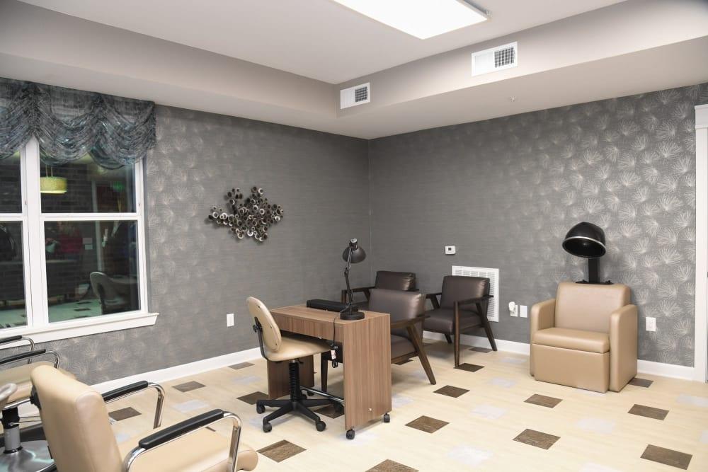 Salon room at Artistry at Craig Ranch in McKinney, Texas
