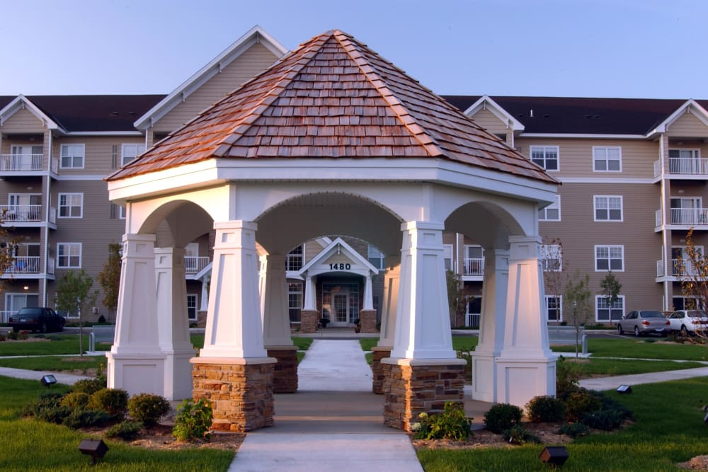 Gazebo at Applewood Pointe of Roseville in Roseville, Minnesota