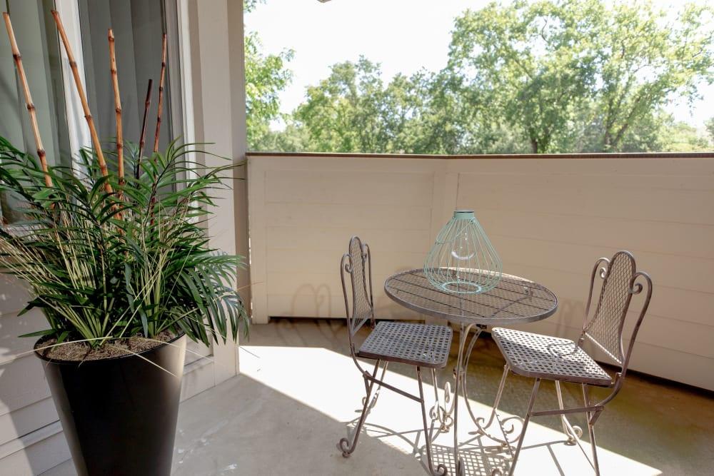 Spacious and private back patio at Shaliko in Rocklin, California
