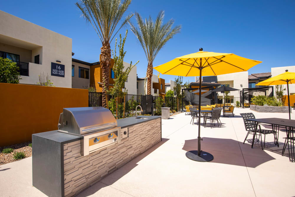 Outdoor BBQ Area at The Aviator in Henderson, Nevada