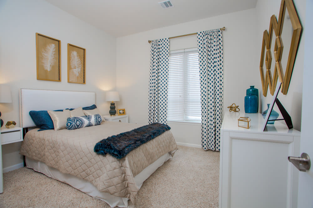 The Mark Parsippany master bedroom in Parsippany, New Jersey