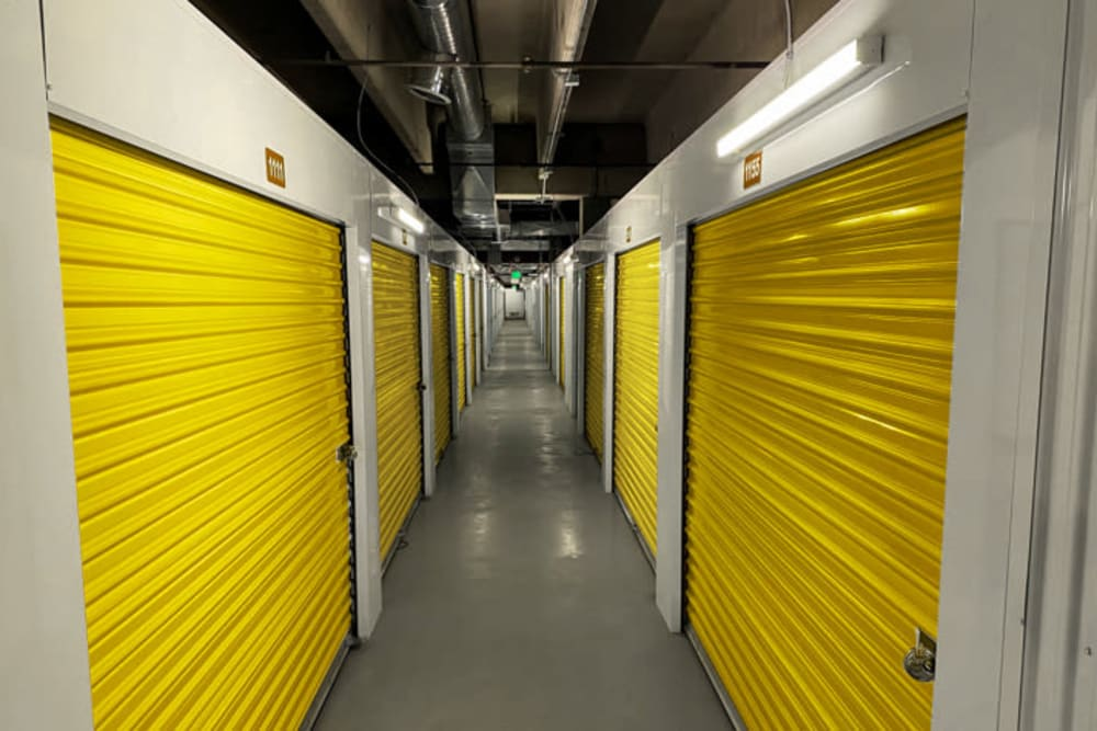 The climate controlled units available for rent at Storage 365 in Colorado Springs, Colorado