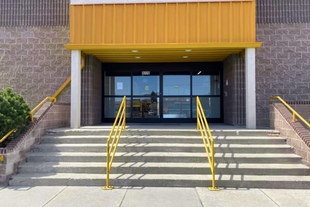 The front entrance to Storage 365 in Colorado Springs, Colorado