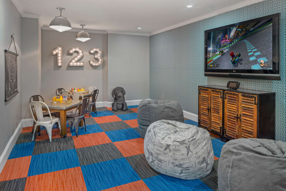 Game room at Bradlee Danvers in Danvers, Massachusetts