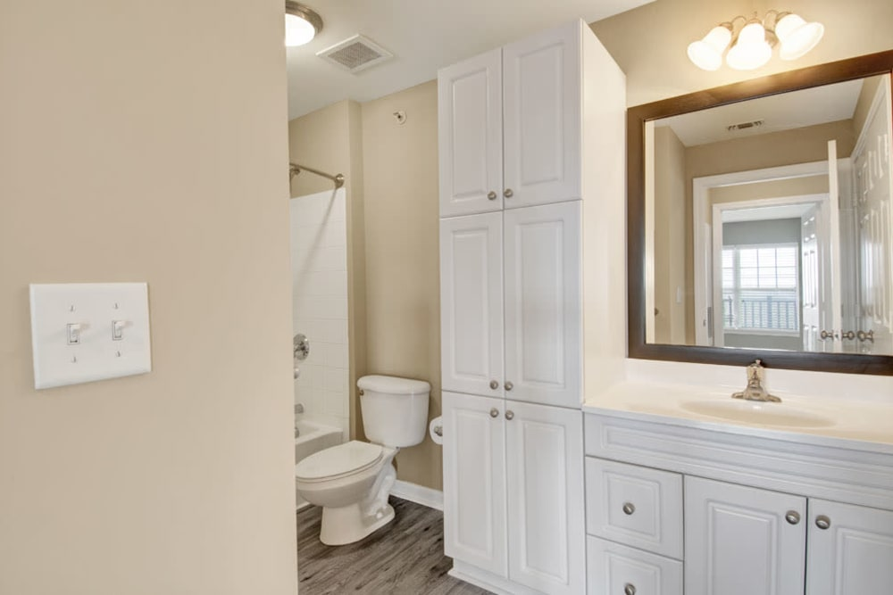 Bathroom at Bradlee Danvers in Danvers, Massachusetts