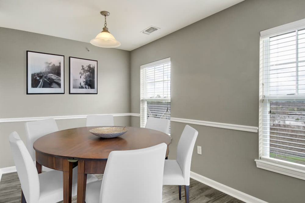 Cozy dining room at Bradlee Danvers in Danvers, Massachusetts