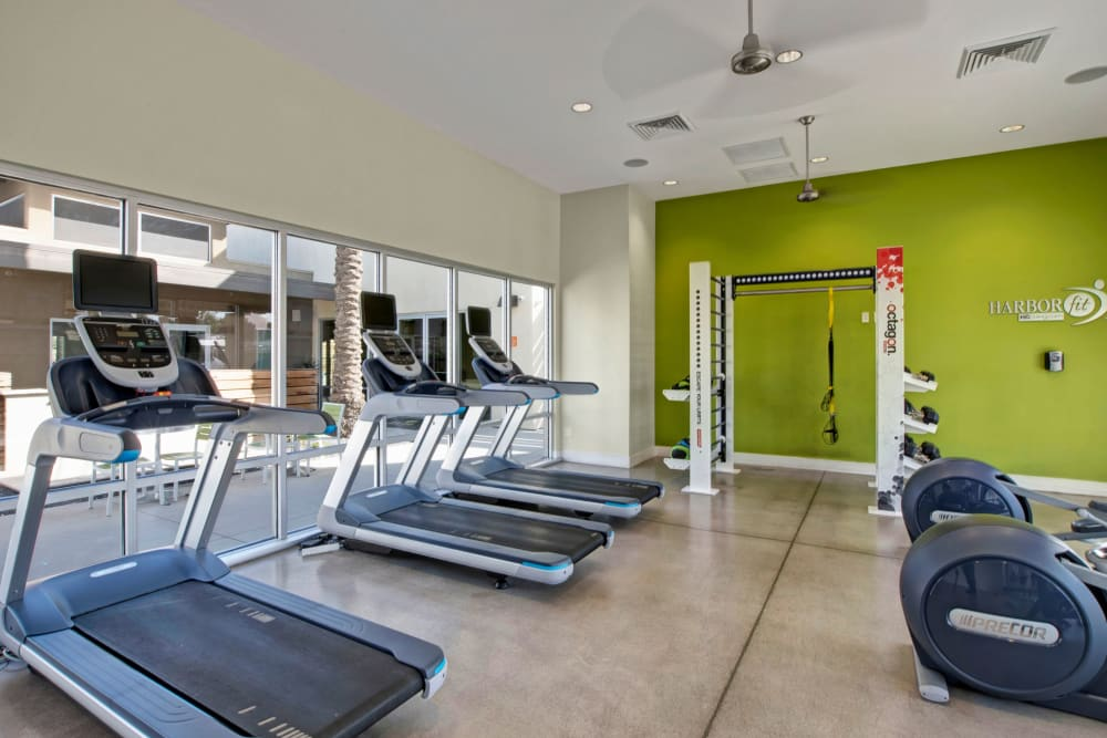 Avia McCormick Ranch Apartments gym area in Scottsdale, Arizona