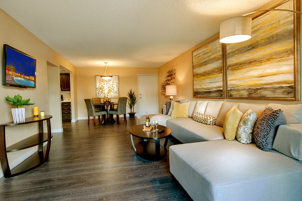 Open floor plans at Avia McCormick Ranch Apartments in Scottsdale, Arizona