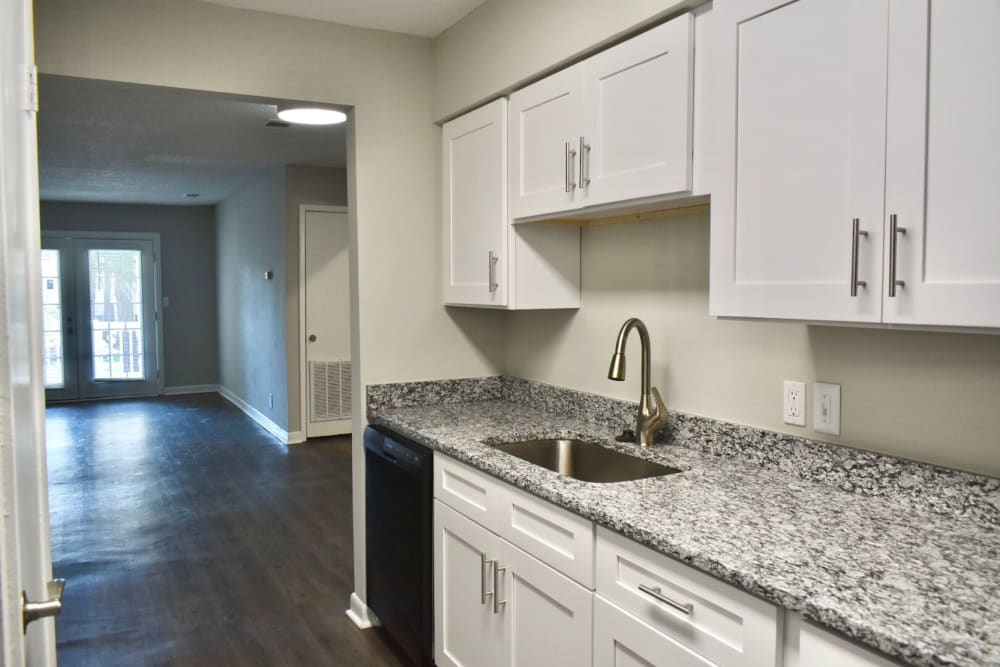 Kitchen at The Kendall Apartments