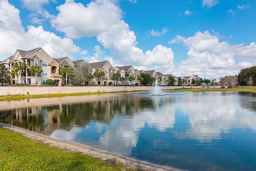 Water views at Landings at Four Corners in Davenport, Florida