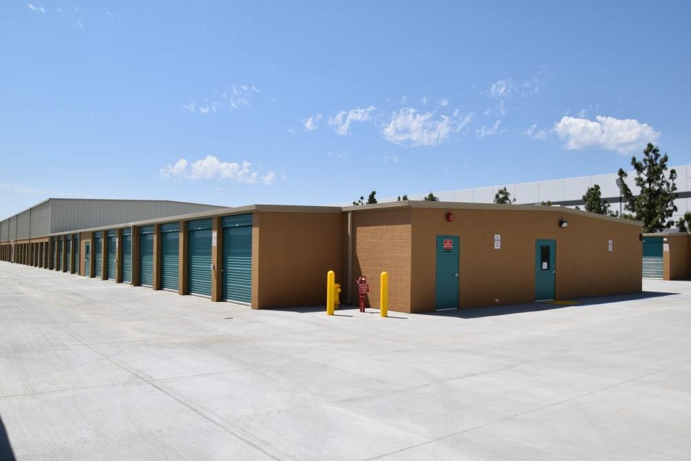 Exterior of Chino Self Storage in Chino, CA
