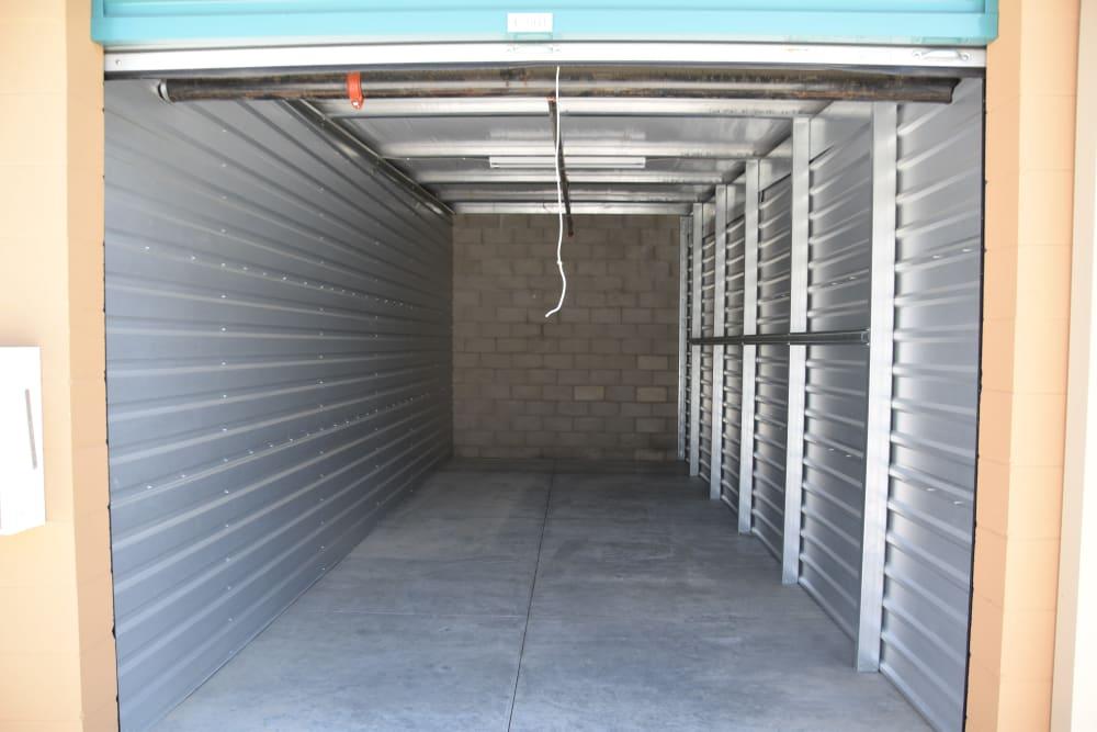 Large storage room at Chino Self Storage in Chino, CA