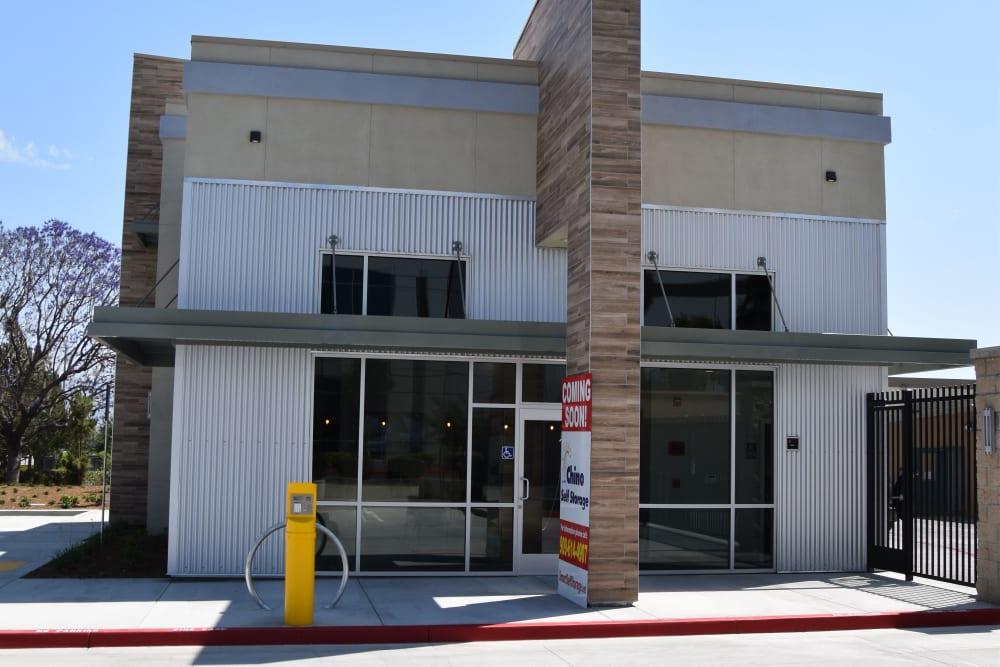 Facility office at Chino Self Storage in Chino, CA