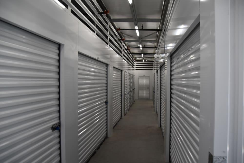 Storage units at Chino Self Storage in Chino, CA