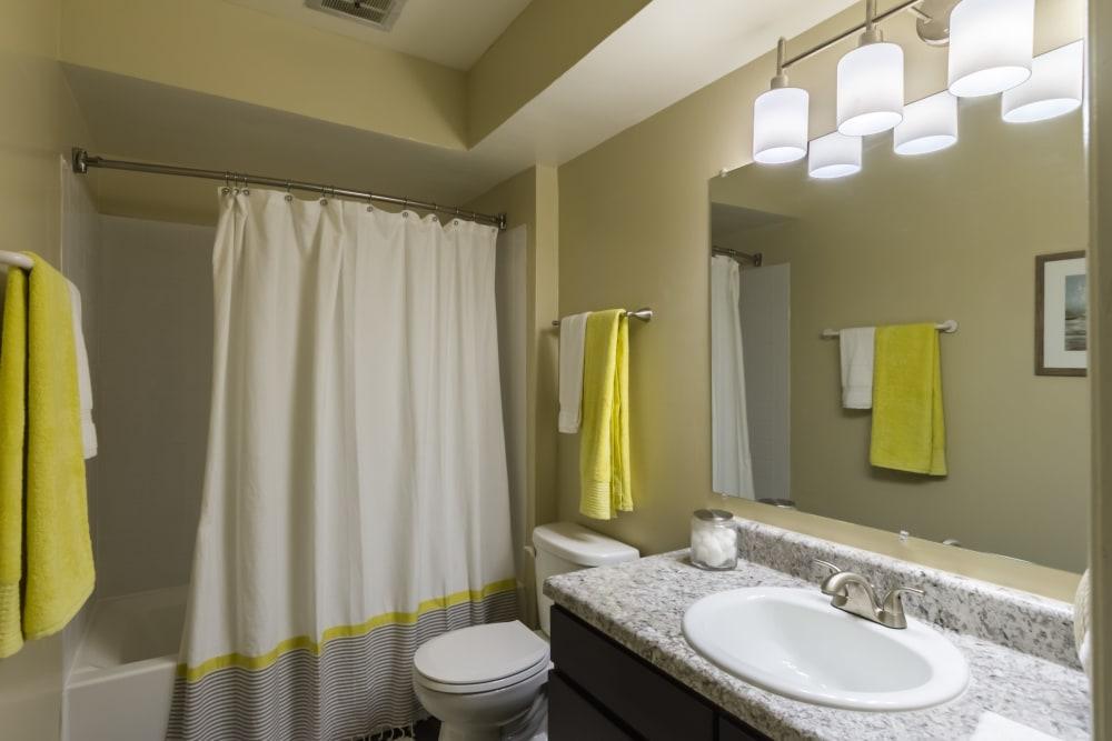 Bathroom at Governours Square in Columbus, Ohio