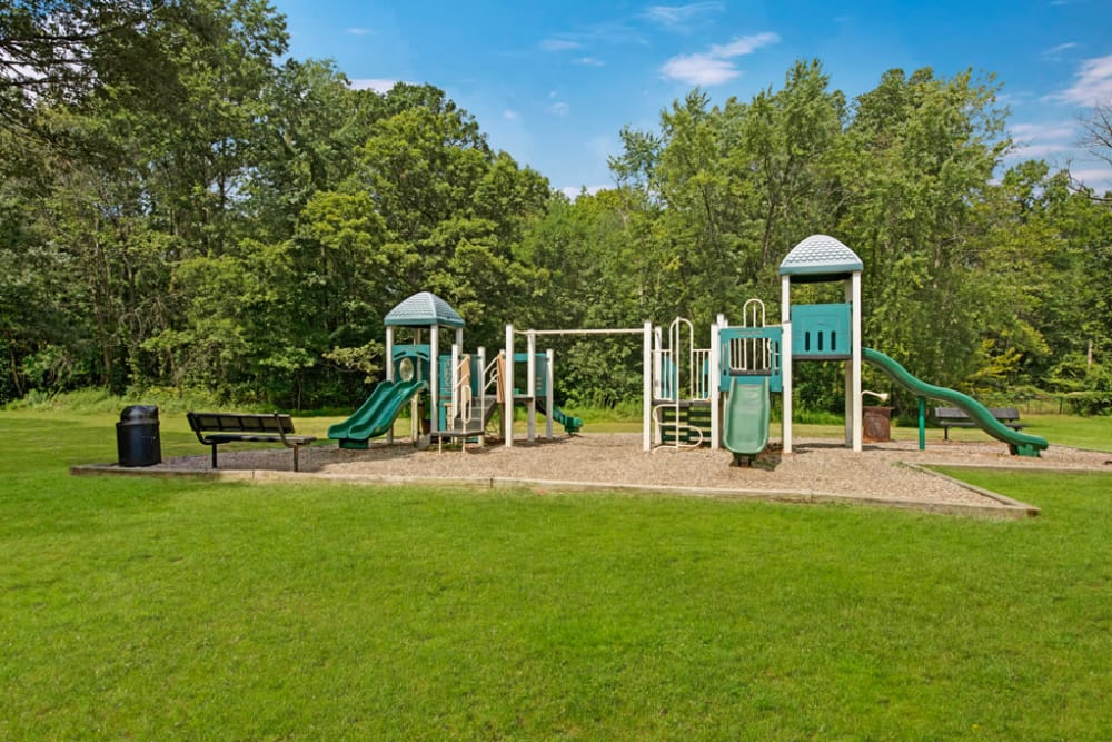 Wonderful playground at Heritage Woods in Bel Air, Maryland