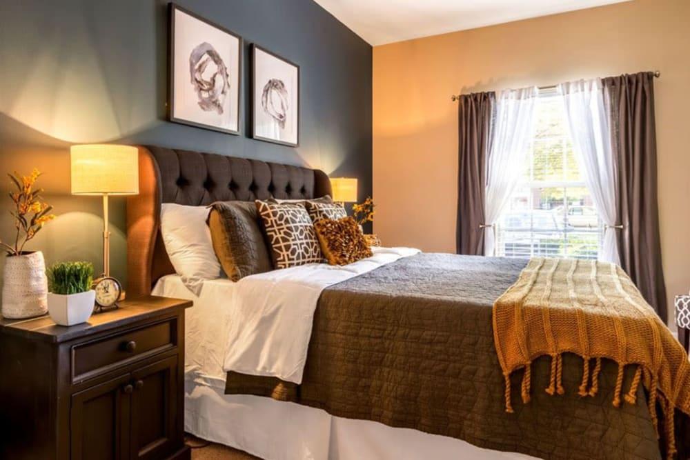 Master bedroom at Heritage Green in Hilliard, Ohio