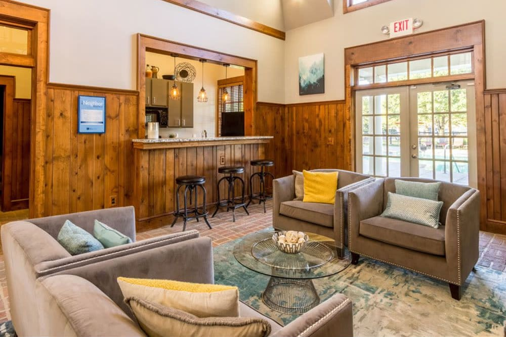 High end clubhouse at Heritage Green in Hilliard, Ohio