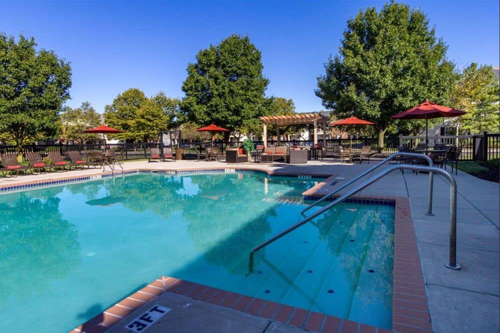 Heritage Green resort style pool in Hilliard, Ohio