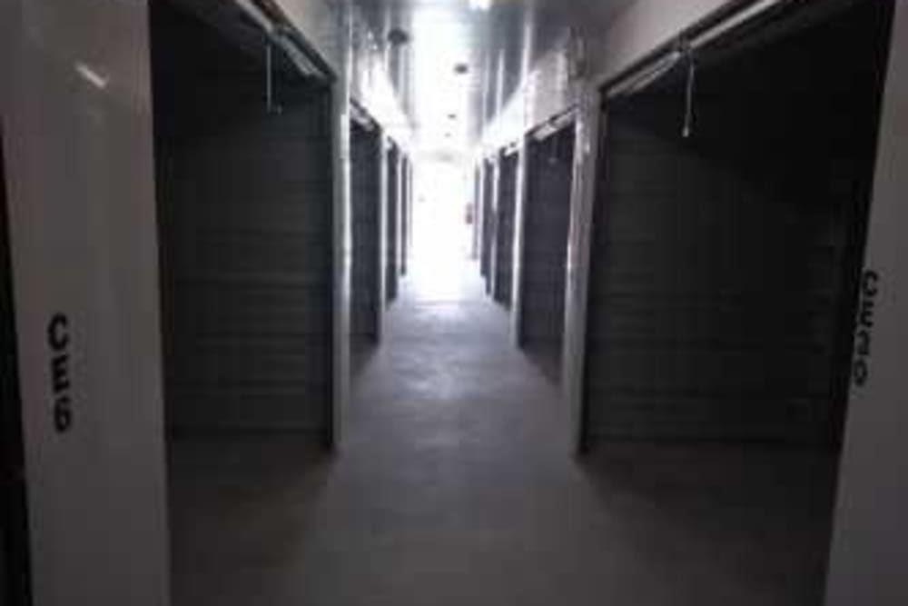 Interior storage units at Summit Self Storage - Loveland in Loveland, Colorado