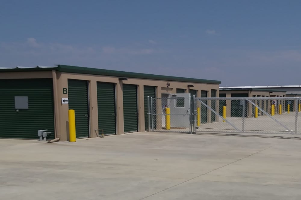 Storage units at Summit Self Storage - Loveland in Loveland, Colorado