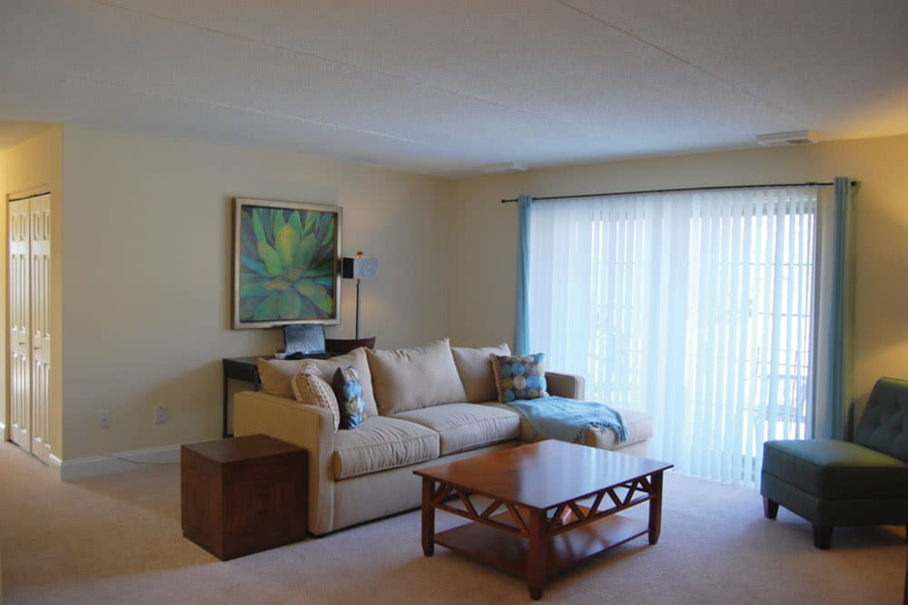 A furnished apartment at The Heights At Marlborough in Marlborough, Massachusetts
