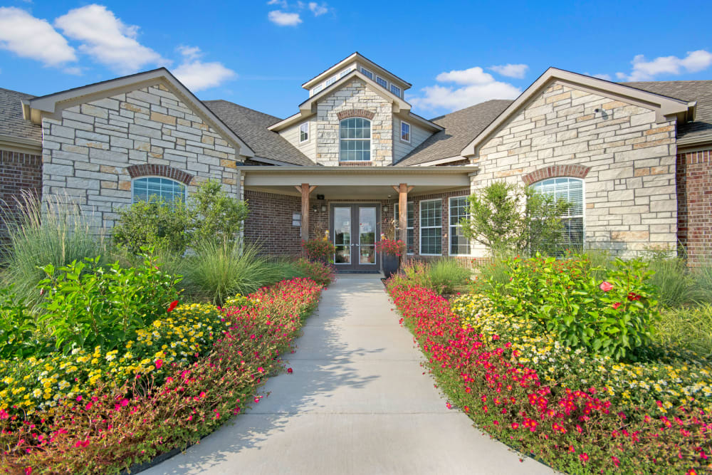 Exterior of Creekside South in Wylie, Texas