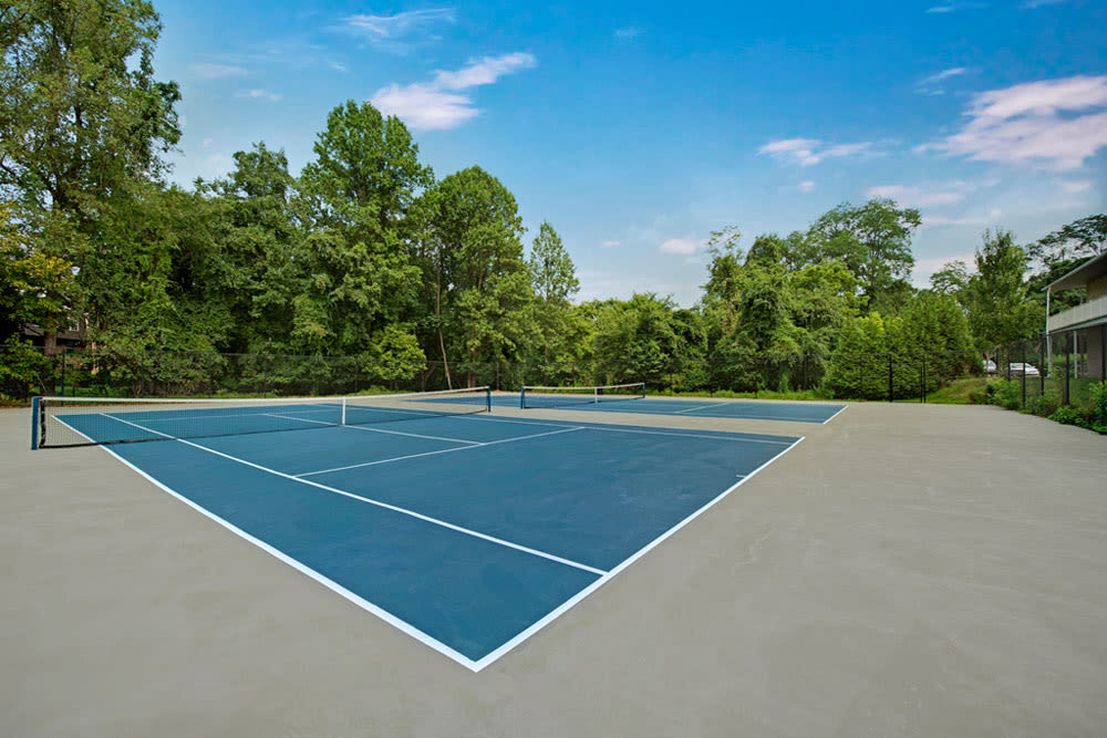 Tennis court at Howard Crossing in Ellicott City, Maryland