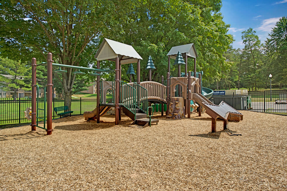 Playground at Howard Crossing in Ellicott City, Maryland