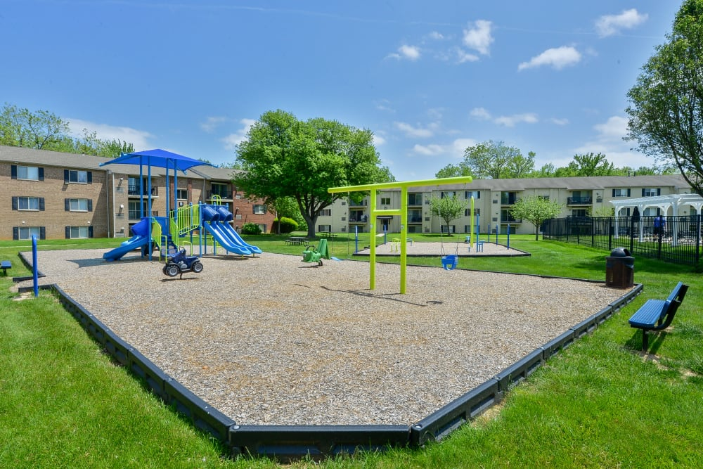 Enjoy Apartments with a Playground at Chesterfield Apartment Homes