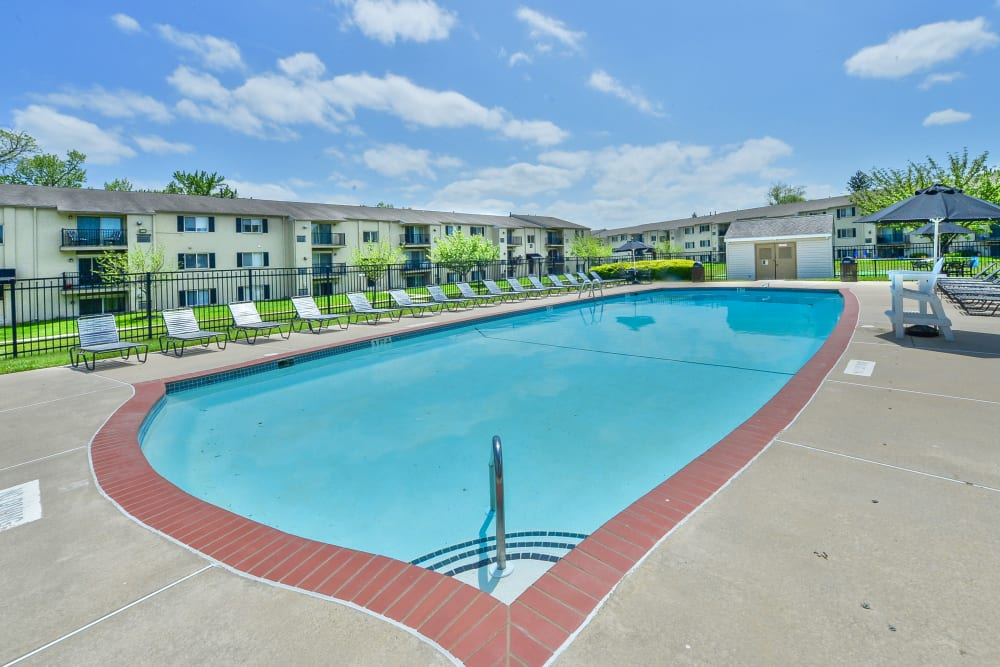 Enjoy Apartments with a Swimming Pool at Chesterfield Apartment Homes
