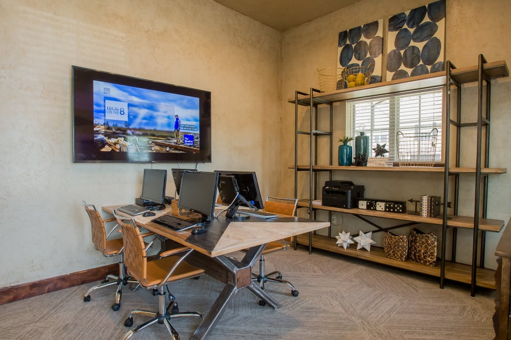 Community office space at Tuscany Ranch