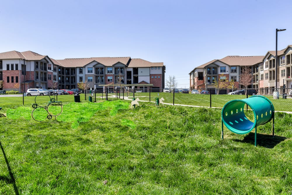Enjoy Apartments with a Dog Park at Boulders at Overland Park Apartments