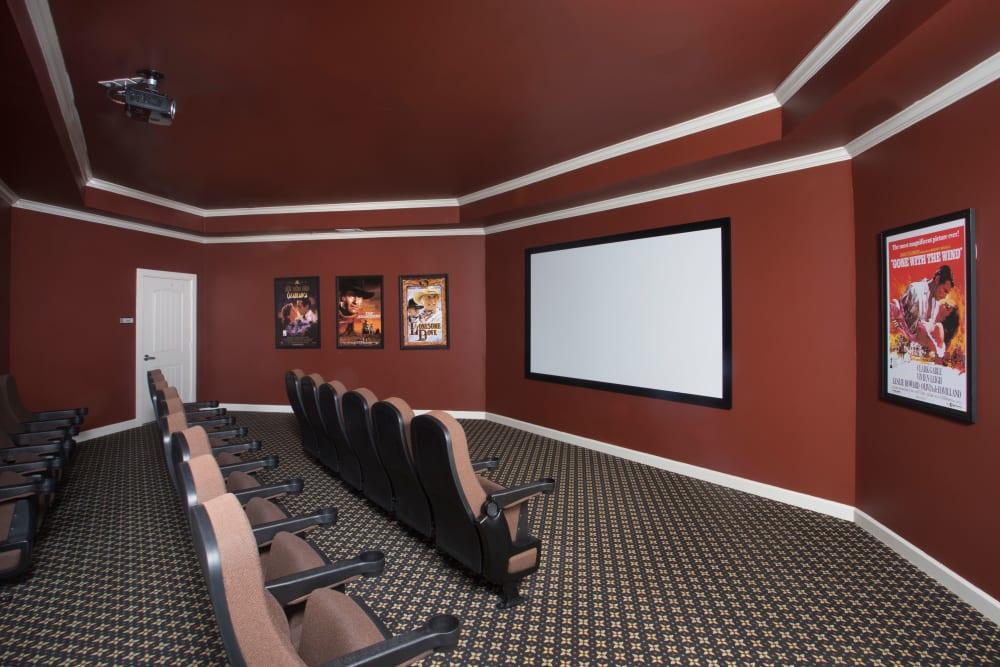 Movie Theater at The Claiborne at Thibodaux in Thibodaux, Louisiana