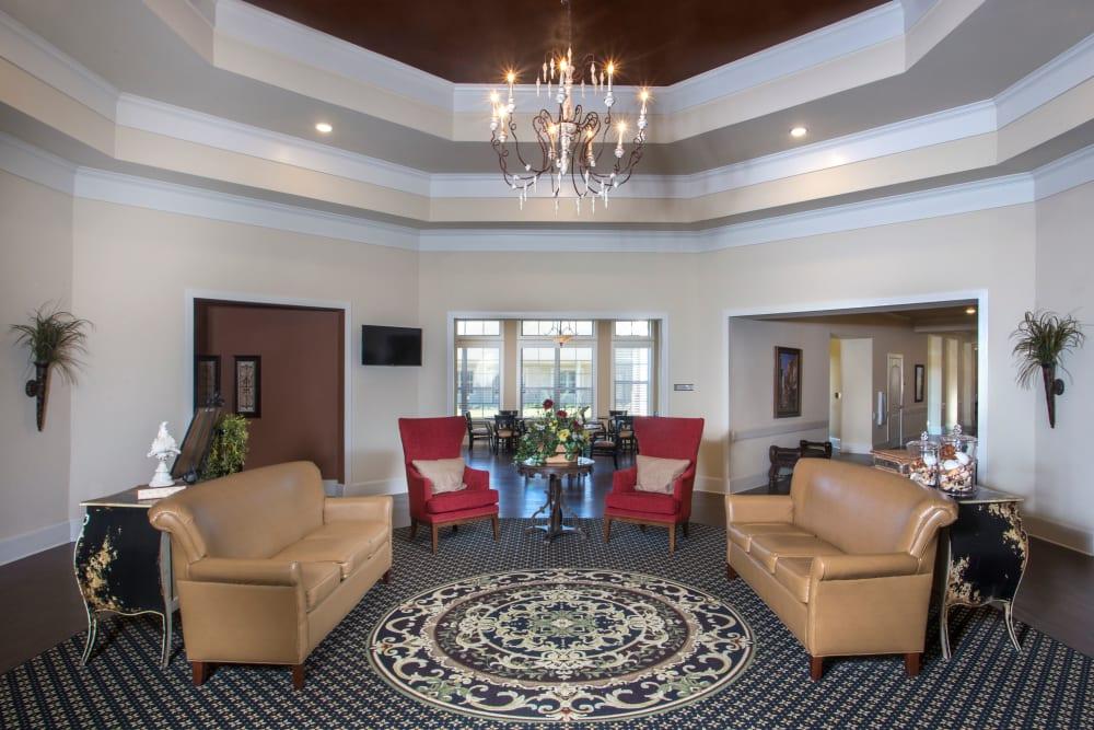 Foyer Entrance at The Claiborne at Thibodaux in Thibodaux, Louisiana