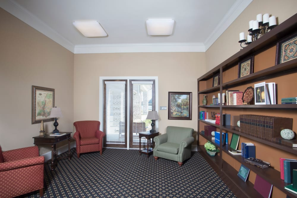 Library room at The Claiborne at Thibodaux in Thibodaux, Louisiana
