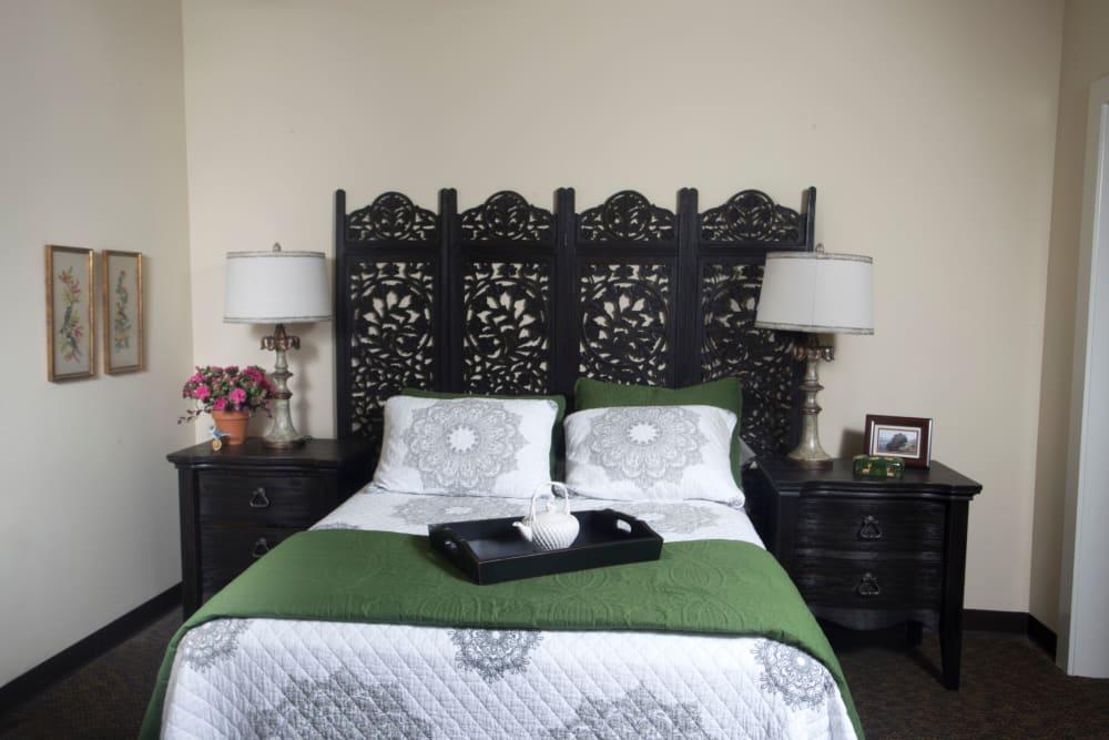 Bedroom in apartment at The Claiborne at Thibodaux in Thibodaux, Louisiana