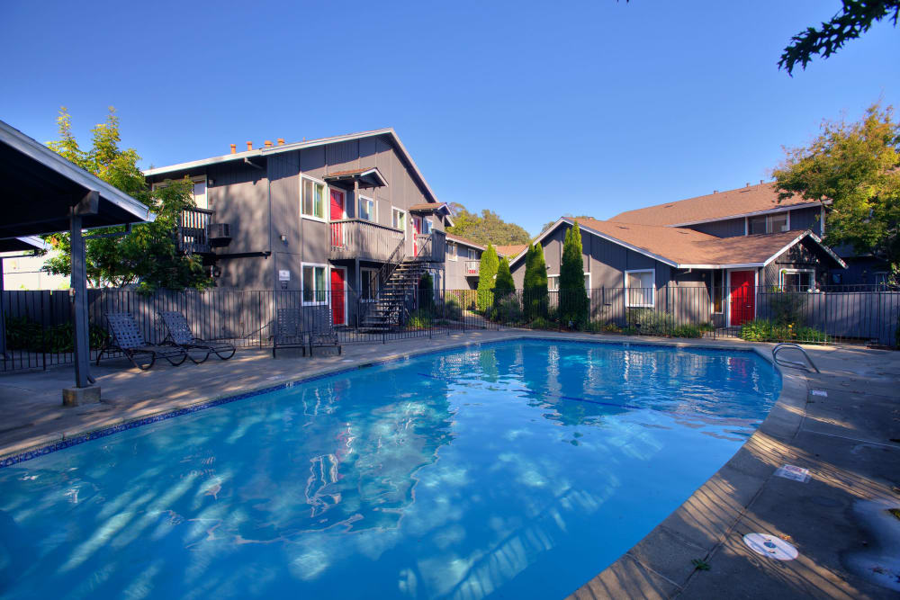 Pool at Spring Lake Apartment Homes in Santa Rosa, California