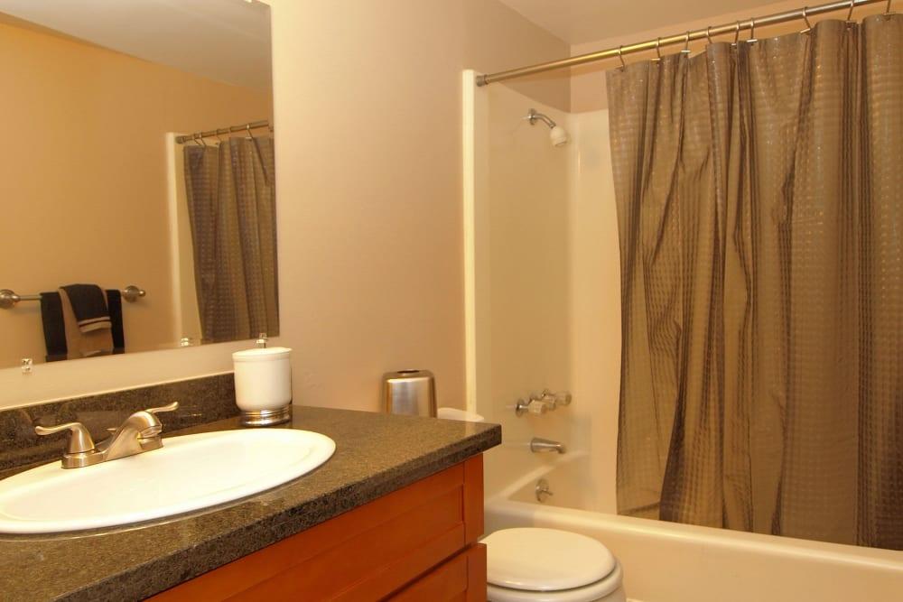 Bathroom at Spring Lake Apartment Homes in Santa Rosa, California