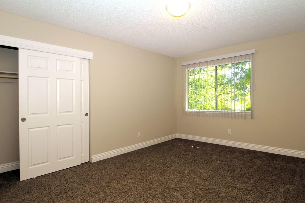 Spacious bedroom at Spring Lake Apartment Homes in Santa Rosa, California