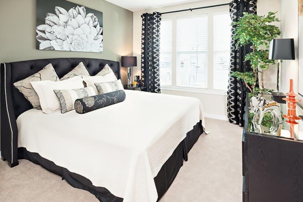 Palette at Arts District master bedroom in Hyattsville, Maryland