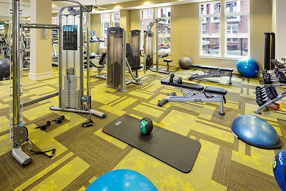 Palette at Arts District gym in Hyattsville, Maryland