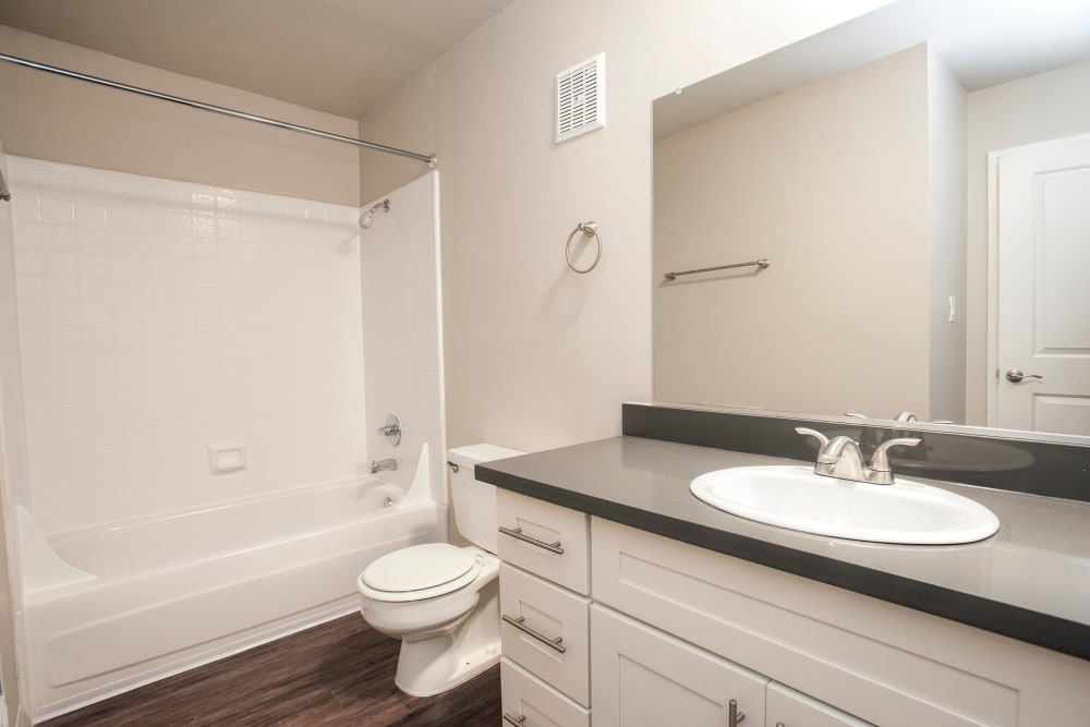 Bathroom of Ballena Village Apartment Homes in Alameda, California